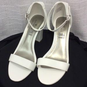 Worthington Off White Heels Size 8 1/2